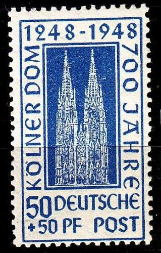 GERMANY Alliiert AmBri [1948] MiNr 0072 YC ( **/mnh )