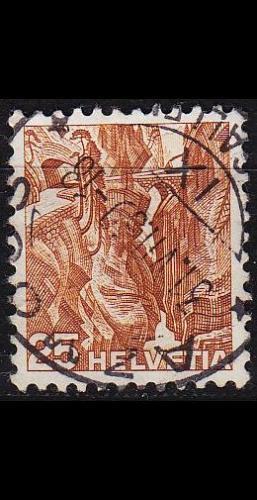 SCHWEIZ SWITZERLAND [1936] MiNr 0302 z ( O/used ) Landschaft
