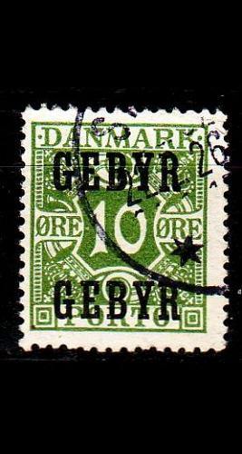 DÄNEMARK DANMARK [Verrechnung] MiNr 0014 ( O/used )
