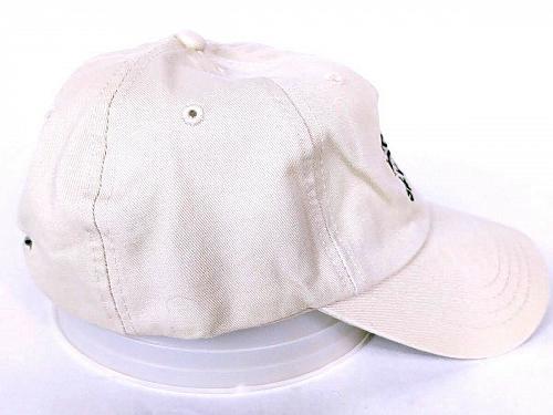 Bacardi Silver Men's Strapback Hat Watermelon Beige Adjustable One Size
