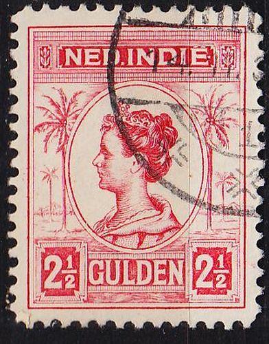 NIEDERLANDE NETHERLANDS Indien [1913] MiNr 0124 ( O/used )