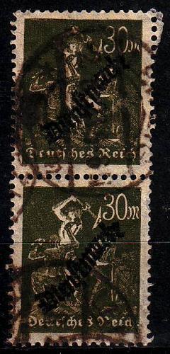 GERMANY REICH Dienst [1923] MiNr 0076 ( O/used ) [01]