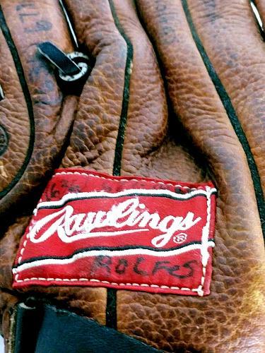 "Rawlings Brown Leather RPT20 Fastback Model Baseball Softball Glove 11.5"""