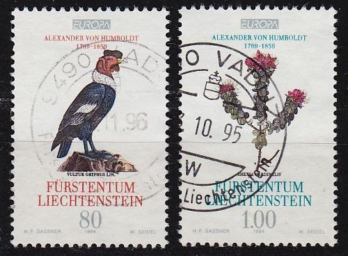 LIECHTENSTEIN [1994] MiNr 1079-80 ( O/used ) Pflanzen