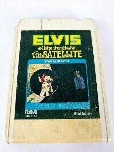 Elvis Presley Aloha From Hawaii Via Satellite (8-Track Tape, P8S-5144)