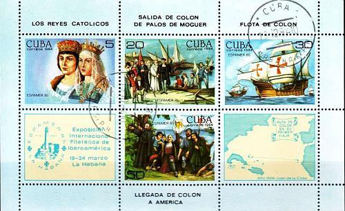 KUBA CUBA [1984] MiNr 2894-97 Block 86 ( O/used )