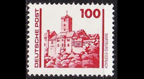 GERMANY DDR [1990] MiNr 3350 ( **/mnh ) Architektur