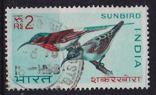 INDIEN INDIA [1968] MiNr 0467 ( O/used ) Vögel