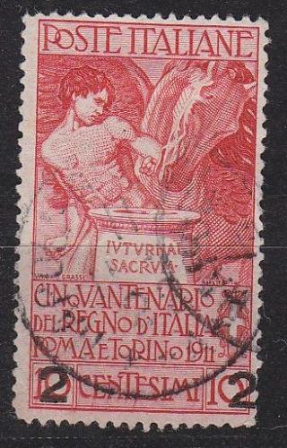 ITALIEN ITALY [1913] MiNr 0108 II ( O/used )