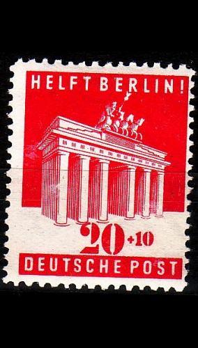 GERMANY Alliiert AmBri [1948] MiNr 0102 E ( */mh )