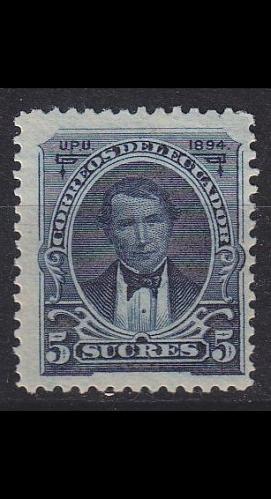 ECUADOR [1894] MiNr 0037 ( */mh )
