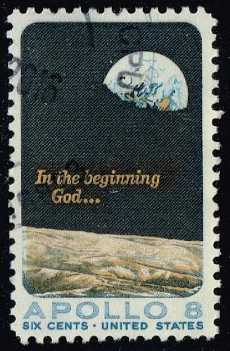 US #1371 Apollo 8; Used (3Stars) |USA1371-03