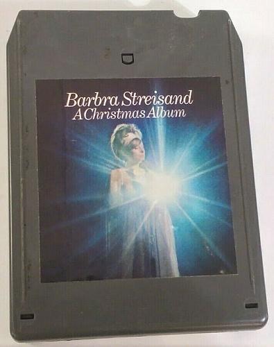 Barbra Streisand A Christmas Album (8-Track Tape, 18C00530)