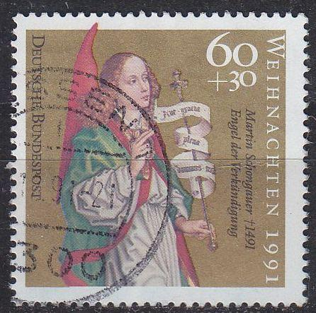 GERMANY BUND [1991] MiNr 1578 ( O/used ) Weihnachten