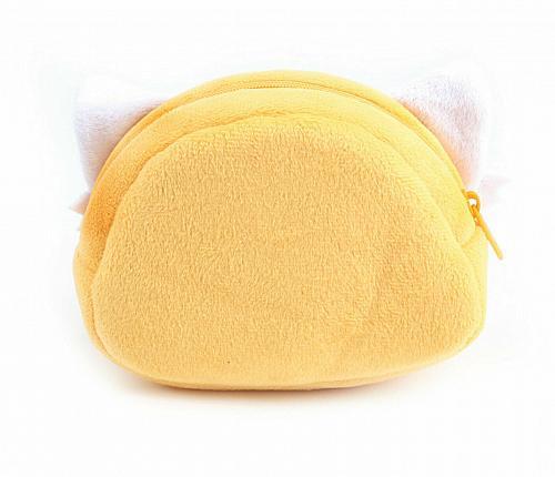 New Hello Kitty Aggretsuko Diecut Pouch Rage Single Face Free Shipping