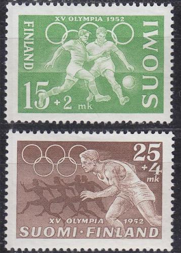 FINLAND SOUMI [1951] MiNr 0399 ex ( */mh ) [01] Olympiade