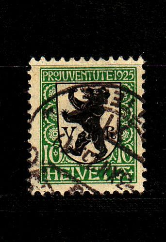 SCHWEIZ SWITZERLAND [1925] MiNr 0215 ( O/used ) Pro Juventute