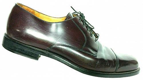 Cole Haan City Men's Burgundy Leather Cap Toe Lace Up Oxford Shoe Size 11 D