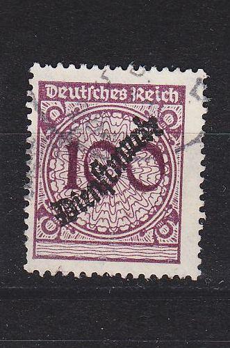 GERMANY REICH Dienst [1923] MiNr 0104 ( O/used )