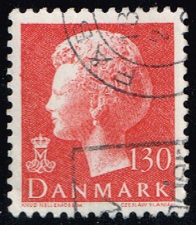 Denmark #633 Queen Margrethe; Used (3Stars) |DEN0633-01XBC
