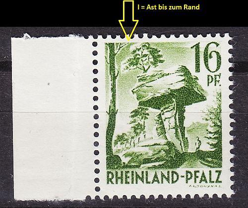 GERMANY Alliiert Franz. Zone [RheinlPfalz] MiNr 0006 yv I ( **/mnh )