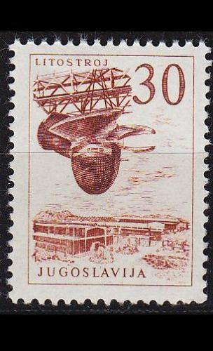 JUGOSLAVIA [1961] MiNr 0979 ( **/mnh )