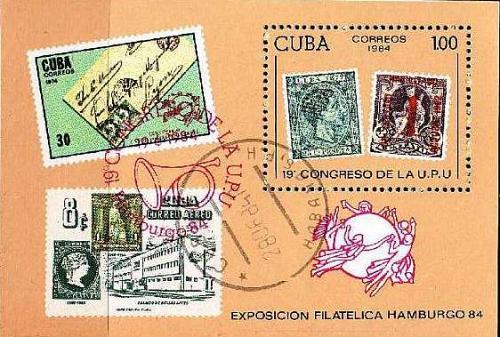 KUBA CUBA [1984] MiNr 2865 Block 83 ( O/used ) Briefmarken