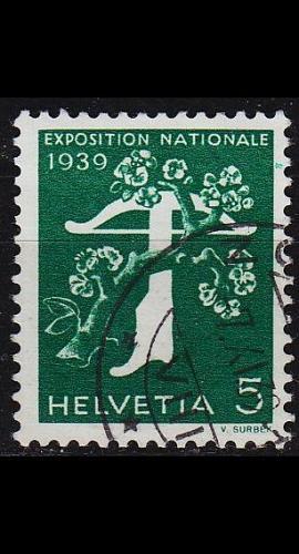 SCHWEIZ SWITZERLAND [1939] MiNr 0348 z ( O/used )