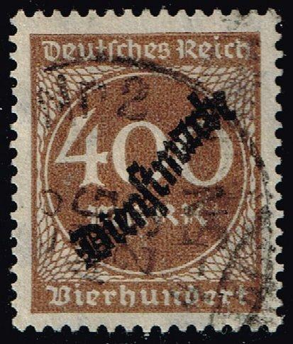 Germany #O27 Official - Numeral; CTO (3Stars) |DEUO027-02XRS