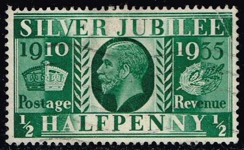 Great Britain #226 Silver Jubilee; Used (0.60) (1Stars)  GBR0226-03XRS