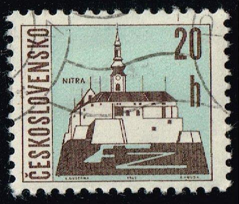 Czechoslovakia #1347 Nitra; CTO (0.25) (3Stars)  CZE1347-07