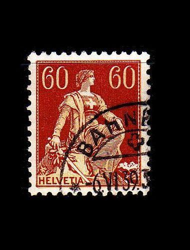 SCHWEIZ SWITZERLAND [1917] MiNr 0140 z ( O/used )