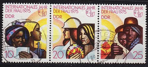 GERMANY DDR [1975] MiNr 2019-21 WZd322 ( OO/used )