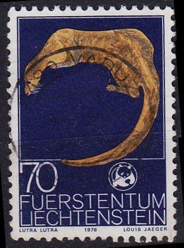 LIECHTENSTEIN [1976] MiNr 0646 ( O/used ) Tiere