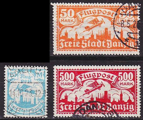 GERMANY REICH Danzig [1923] MiNr 0133 ex ( OO/used ) [01]