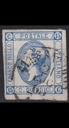 ITALIEN ITALY [1863] MiNr 0015 I ( O/used ) [02]