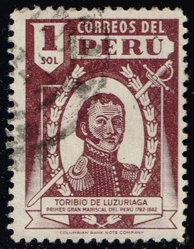 Peru **U-Pick** Stamp Stop Box #158 Item 48  USS158-48