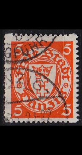 GERMANY REICH Danzig [1924] MiNr 0193 Dy ( OO/used ) [01]