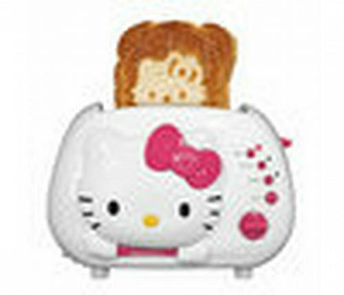 Sanrio Hello Kitty Two Slice Toaster -NEW IN BOX- KT5211