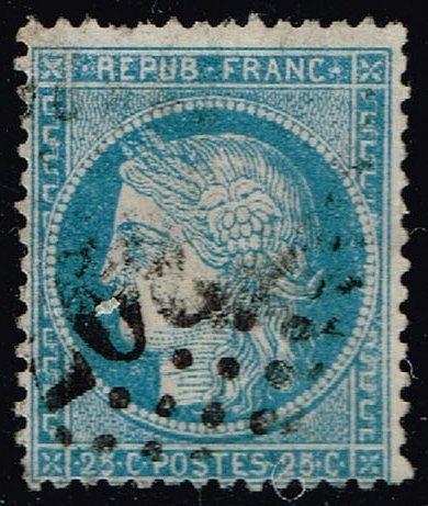 France #58 Ceres; Used (1Stars)  FRA0058-05XVA