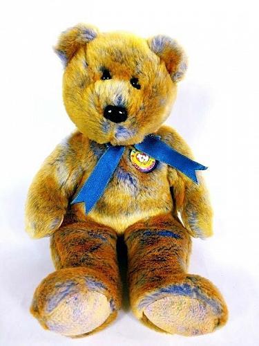 "Ty Beanie Buddies Clubby III Bear Plush Stuffed Animal 14"""