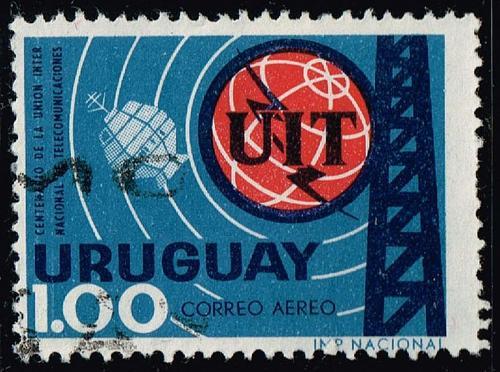 Uruguay **U-Pick** Stamp Stop Box #159 Item 13 |USS159-13