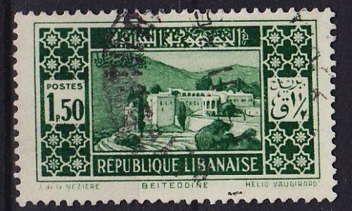 LIBANON LEBANON LIBAN [1930] MiNr 0173 ( O/used )