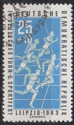 GERMANY DDR [1963] MiNr 0965 ( O/used ) Sport