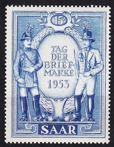 GERMANY Saar [1953] MiNr 0342 ( **/mnh )