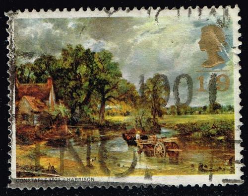 Great Britain #571 Paintings; Used (0.40) (0Stars) |GBR0571-01XVA