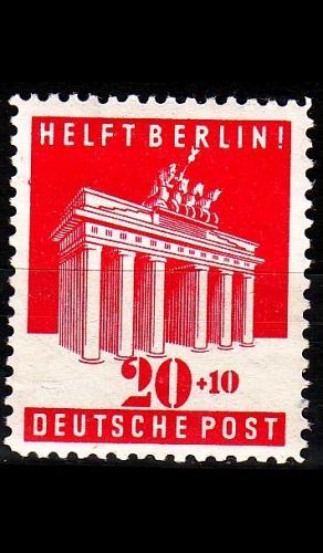 GERMANY Alliiert AmBri [1948] MiNr 0102 A ( */mh )