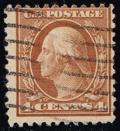 US #503 George Washington; Used (2Stars) |USA0503-09