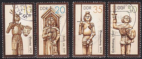 GERMANY DDR [1987] MiNr 3063-66 ( OO/used )