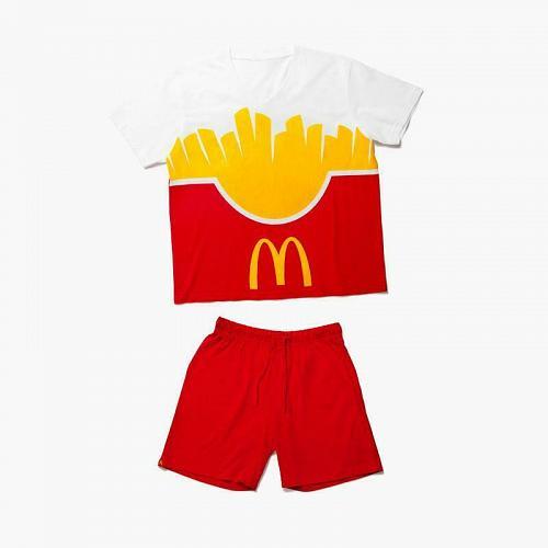 New McDonald World Famous Fries Lounge Set kids S, M, L, XL, 2XL, 3XL Free Ship